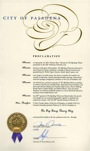 TBBT Proclamation Image
